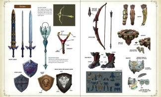 HyruleHistoria-Weapons